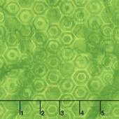 Island Bright Batiks - Honeycomb Lime Yardage