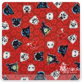 Angry Birds - Star Wars Heads of Empire Red Yardage