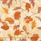 Autumn Air - Whirlwind Mulberry Metallic Yardage