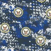 Military - Navy Camo Multi Yardage