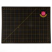 Tula Pink Black and Gold Cutting Mat