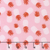 Club Havana - Pineapple Pink Yardage