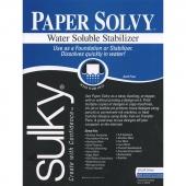 "Sulky Paper Solvy 11"" x 8.5"""