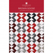 Brown Goose Quilt Pattern by Missouri Star