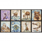 Wilderness Expressions - Animals Wild Digitally Printed Panel