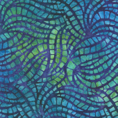 Artisan Batiks - Natural Formations 3 Ocean Mosaic Pool Yardage