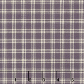 Lilac Ridge - Plaid Purple Yardage