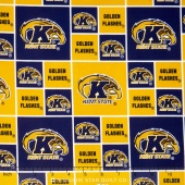 College - Kent State University Allover Yardage