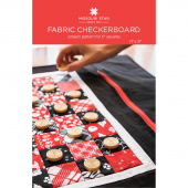 Fabric Checkerboard Quilt Pattern by Missouri Star