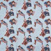 John Wayne Americana - John Wayne Blue Yardage