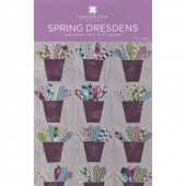 Spring Dresdens Quilt Pattern by Missouri Star