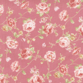 Zellie Ann - Else's Flowers Rose Yardage