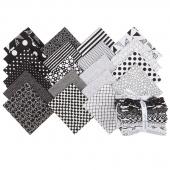 Black & White Fat Quarter Bundle
