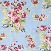 Anne of Green Gables - Anne Floral Blue Yardage