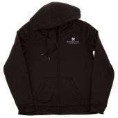 MSQC Logo 3X-Large Zip Hooded Jacket - Black