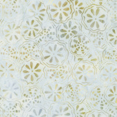 Cream of the Crop Batiks - Floating Flowers Cream Yardage
