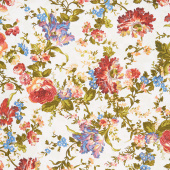 Belle Epoque - Bold Floral Cream Yardage