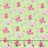 Bunny Love - Mini Flower Bouquet Green Yardage
