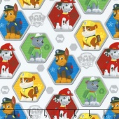 Paw Patrol - Rescue White/Multi Yardage