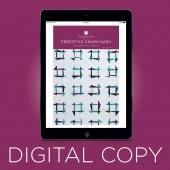 Digital Download - Freestyle Churndash Quilt Pattern by Missouri Star