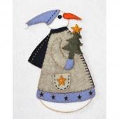 Wendy Snow Woman Wool Felt Kit