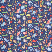 Noah's Ark - ABC Navy Yardage