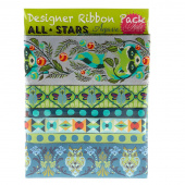 Tula Pink All Stars Agave Designer Ribbon Pack