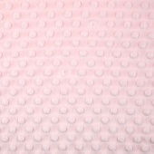 "Cuddle Extra Wide Dimple - Baby Pink 90"" Minky Yardage"