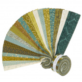 "Sage & Sea Glass 2.5"" Strips"