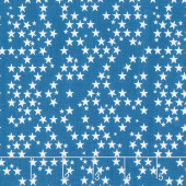 Fireworks & Freedom - Stars Blue Yardage