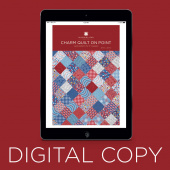 Digital Download - Charm Quilt on Point Quilt Pattern by Missouri Star