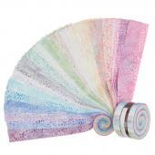 Artisan Batiks - Elementals Petals Roll Up