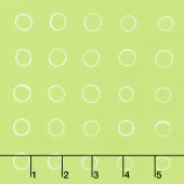 Cottage Joy - Ring Dot Green Yardage