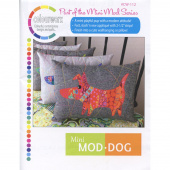 Mini ModDog Wall Hanging & Pillow Pattern