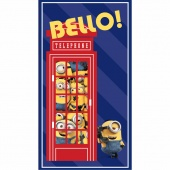 Minions - British Invasion Bello! Telephone Navy Panel