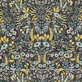Menagerie - Tapestry Midnight Metallic Yardage
