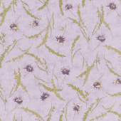 Mill Creek Garden - Wildflowers Lilac Yardage