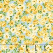 Victoria Gardens - Rosebuds Sky Yardage