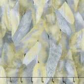 Dragonfly Dance - Purple Gilded Wings Dove Gray Metallic Yardage