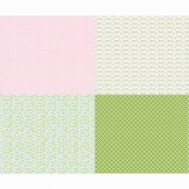 Sew Cherry 2 - Fat Quarter Pink Panel