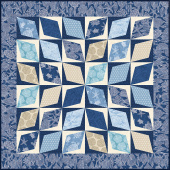 Missouri Star Turtle Bay Diamond Pavers Quilt POD Kit