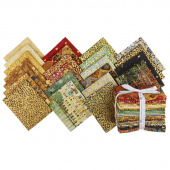 Gustav Klimt Metallic Fat Quarter Bundle