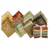 Gustav Klimt Metallic Fat Quarter Bundle