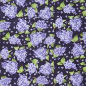 Elizabeth - Lilacs Purple Yardage
