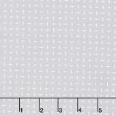 Muslin Mates 2018 - Grid Zen Grey Yardage