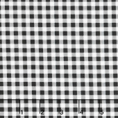 Afternoon Picnic - Gingham Black Yardage