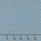Baltimore House - Stars Blue Yardage