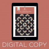 Digital Download - Fancy Dresden Fans Quilt Pattern by Missouri Star