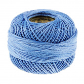 Presencia Perle Cotton Thread Size 8 Medium Delft Blue
