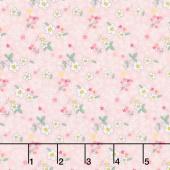 Serendipity - Fleuri Pink Yardage